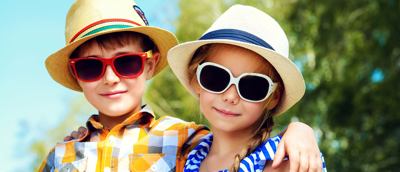 boy and girl sunglasses
